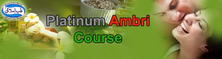 Platinum ambri Course - hakim dilshad